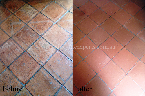 Stripping Terracotta Tiles