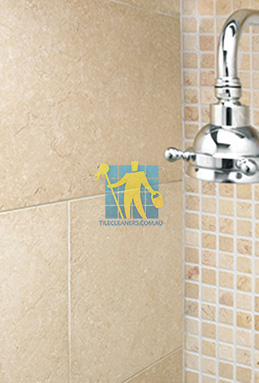 limestone tile shower thala cream Narraweena cleaning