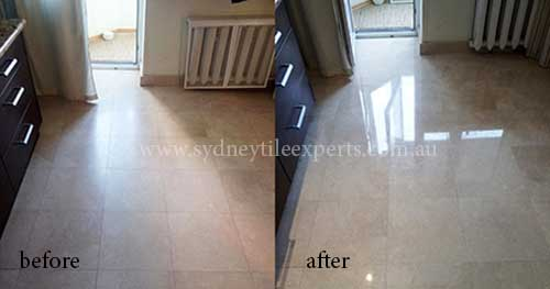 Stripping Limestone Tiles