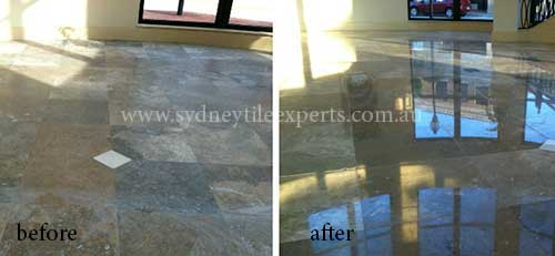 cleaning terrazzo Tiles