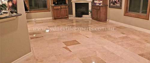 regrouting travertine Tiles