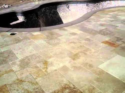 resurfacing travertine Tiles
